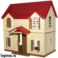 Игровой набор Village Story Домик с красной крышей