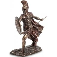 Статуэтка Ахиллес с копьем и щитом