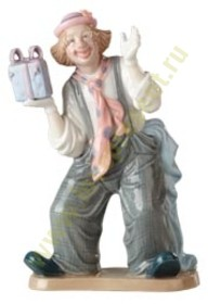 Статуэтка «Клоун с подарком» (Fleur)