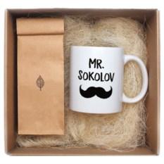 Именной чайный набор Mr