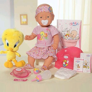 Кукла Baby Born с цыпленком