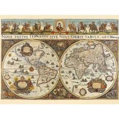 Пазл Карта мира 1665 год Ravensburger