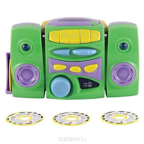 Музыкальная игрушка CD-проигрыватель, с дисками