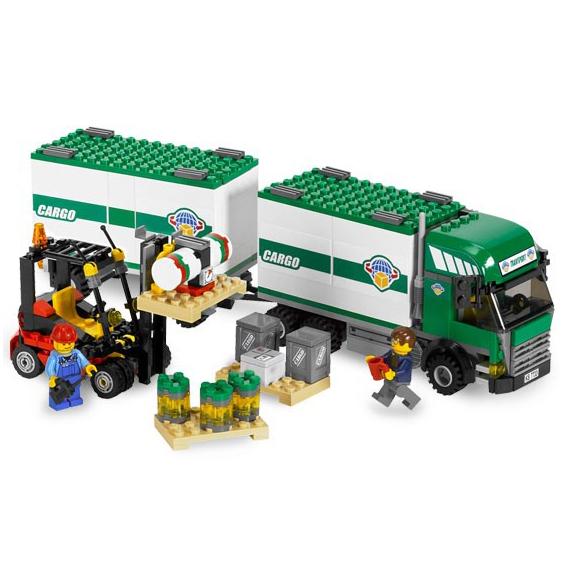 Грузовой тягач Lego