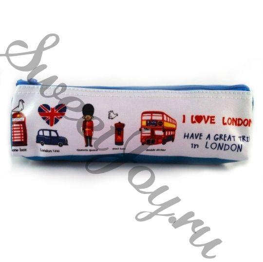 Пенал Love London, белый