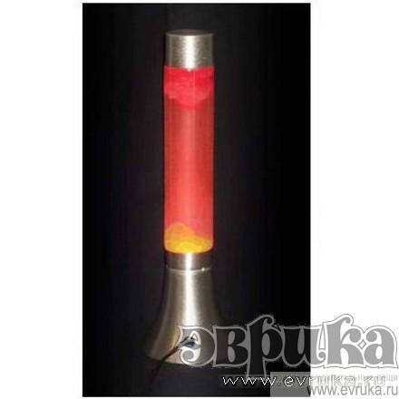 Вулканическая лампа (красная)