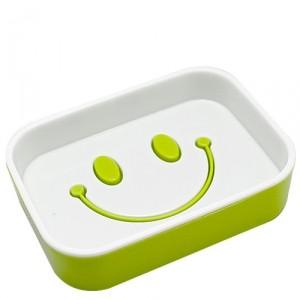 Мыльница Smile green