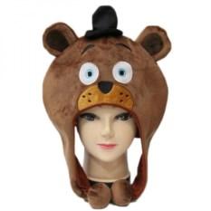 Плюшевая шапка FNAF Медведь