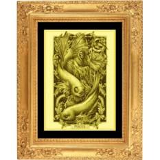 Картина из золота Рыбы
