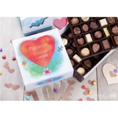 Бельгийский шоколад в подарочной упаковке Второй половинке