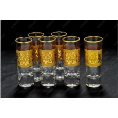 Набор рюмок для водки Flower vodca