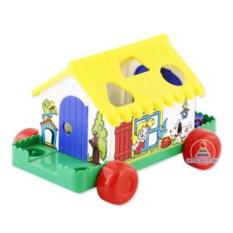 Каталка-сортер «Игровой дом»