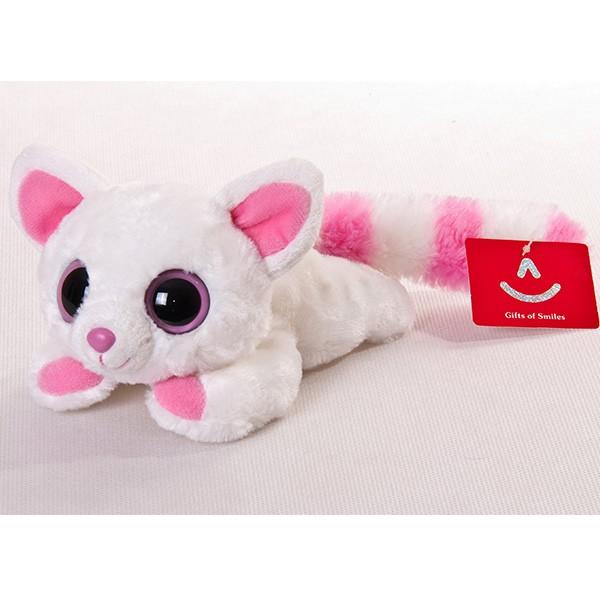 Мягкая игрушка Юху и его друзья. Лисица Памми лежачая