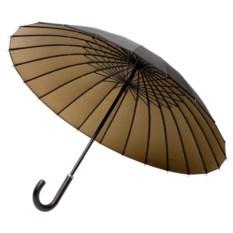 Черный с бронзовым зонт-трость Ella