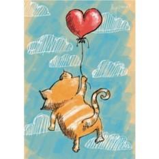 Открытка с конвертом Маркус и любовь