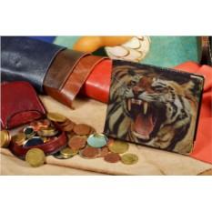 Портмоне с принтом Тигр