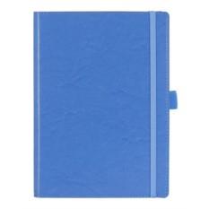 Голубой недатированный ежедневник Soft Book