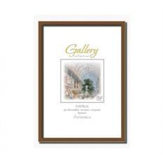 Коричневая фоторамка Gallery формата A2