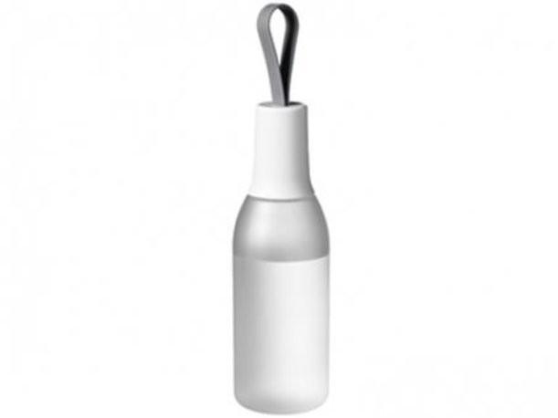 Прозрачная белая бутылка Flow
