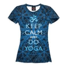 Женская футболка Keep Calm