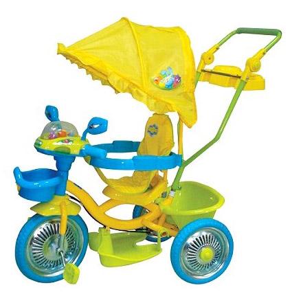 Велосипед «Ёж, Крош, Копатыч», 1 TOY