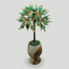 Дерево из нефрита Зеленое счастье