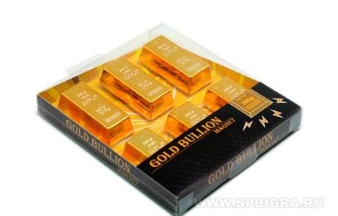 Набор магнитов Золотые бруски