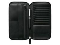 Montblanc Трэвел-портмоне черного цвета