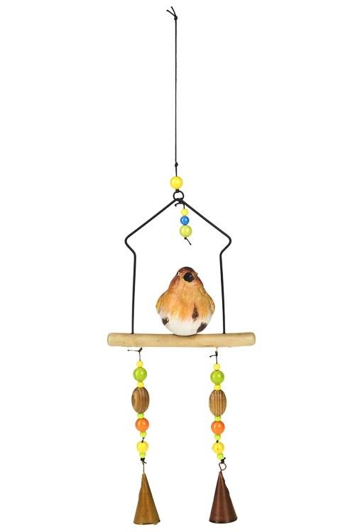 Подвесное украшение для интерьера Птичка