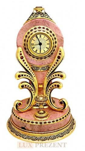 Часы Родонит