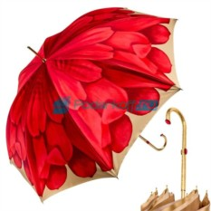 Зонт-трость Pasotti Anzi Georgin Korall Oro