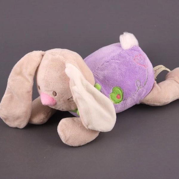 Зайчонок Лулу лежачий 30 см
