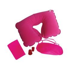 Набор для путешествий, розовый