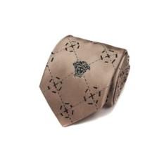 Красивый кофкйный галстук с узорами Versace