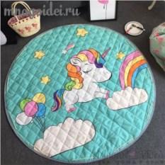 Пляжная сумка-коврик для игрушек Волшебный Единорожка