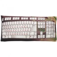 Подушка-антистресс Клавиатура цвета хаки