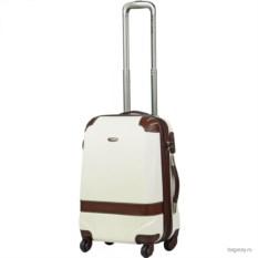 Белый чемодан Dielle Randevu