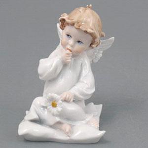 Фигурка «Ангел с ромашкой»