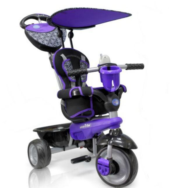 Велосипед Smart Trike Touch Steering Dream, темно-фиолетовый