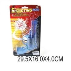 Пластмассовая игрушка Пистолет с трещоткой