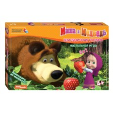 Настольная игра Земляничная поляна, Маша и Медведь