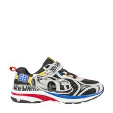Черные с цветным рисунком кроссовки Hot Wheels
