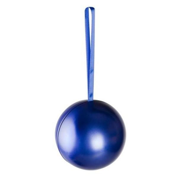 Елочный шар - шкатулка для подарка