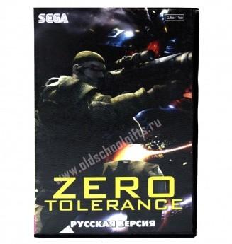 Картридж для Sega - игра Zero Tolerance
