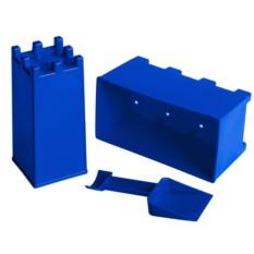 Синий набор для лепки замков из снега и песка