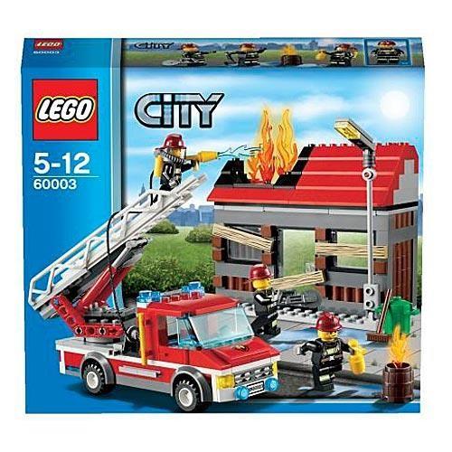 Конструктор Lego City Тушение пожара