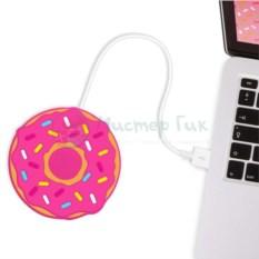 USB-подогреватель для чашки Пончик