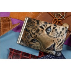 Зажим для денег Глаза леопарда