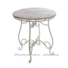Кованый садовый столик Прованс