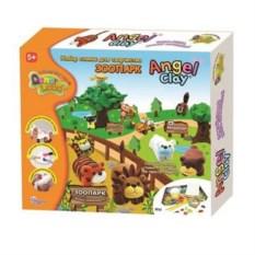 Глина для детского творчества Зоопарк